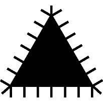Lima Triangular not Manicata 1-170 Bahco