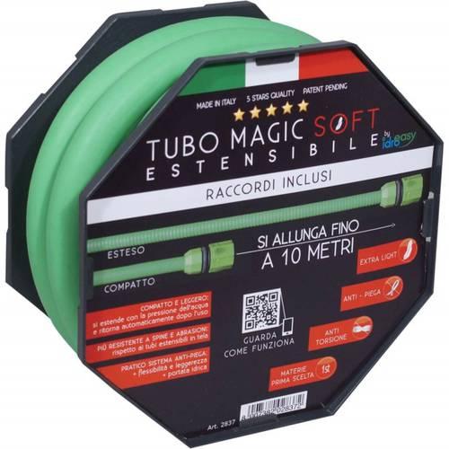 Tube Magic Soft Expandable 25 meters + 6 Lancia Func. + 2 Fittings Art.2867 Idroeasy