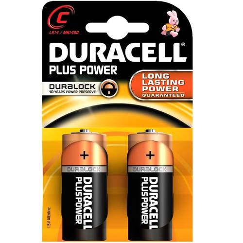 2 Pile Half Torch C MN1400 Duracell