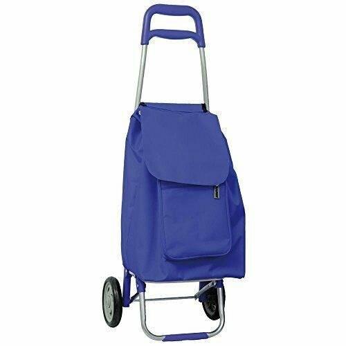 Trolley trolley Blue Shopping Bag 53x32x20 Maurer