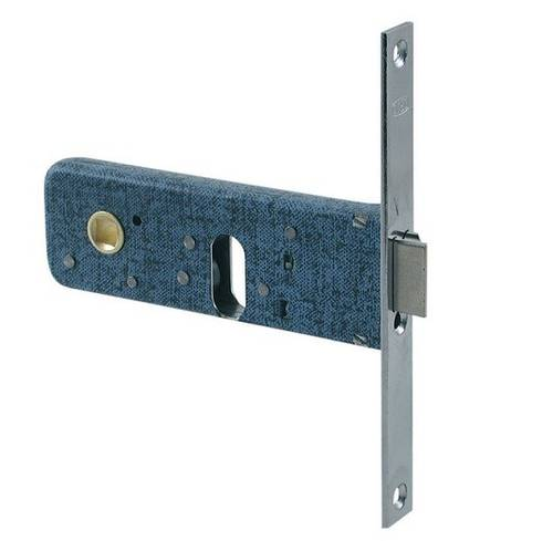 Reversible Lock 2 Mandates with Swing for Entrance Bands 60mm 390 Omec