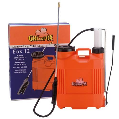 Pump Backpack Weeding Fox 12 Liters Volpi 910PCG