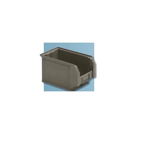 IdeaOne Compact Gray Polypropylene Small Parts Storage Box