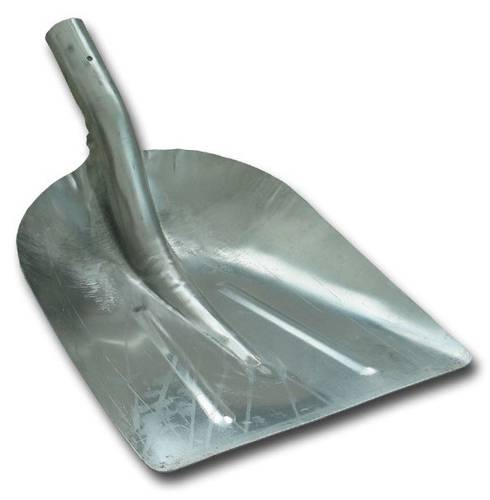 Snow Shovel in Heavy Printed Aluminum
