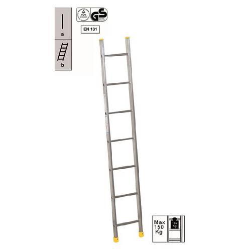 Aluminum Leaning Ladder 8 Steps 95829 Maurer