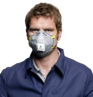 Dust Respirator 9914 P1 Activated Carbon Disposable 3M