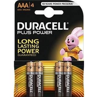 4 Pile Ministilo AAA MN2400 Duracell