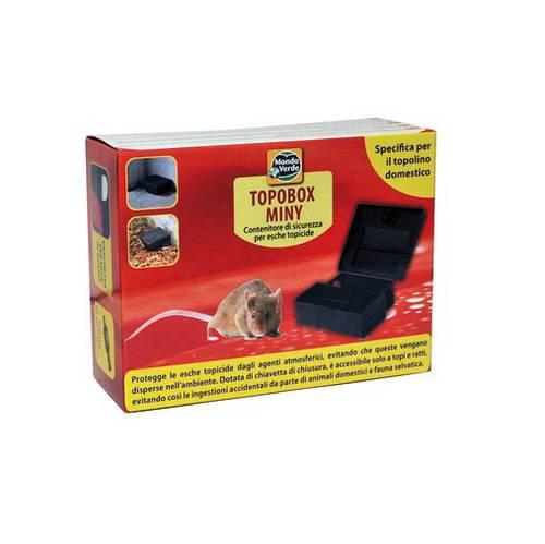 Topobox World Green Safety Bait Container