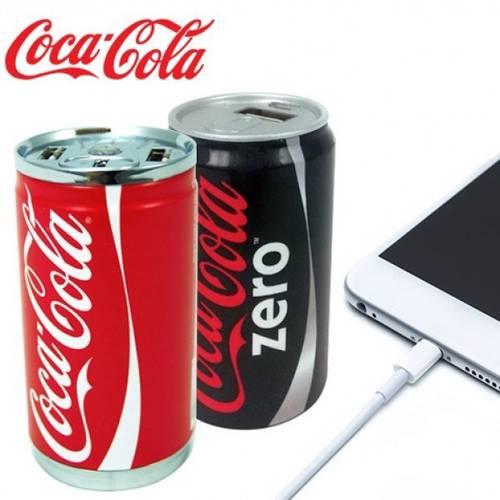 Power Bank Coca Cola 8800mAh Doppia Porta USB New Energy