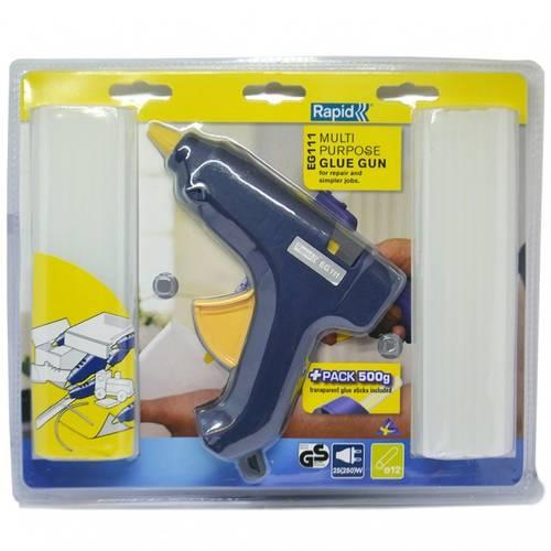 Gluing Glue Gun EG111 12mm Rapid + 500g