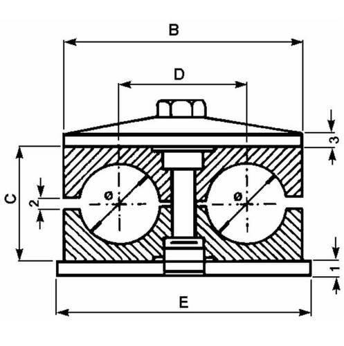 2-Seat Fermatubo Block