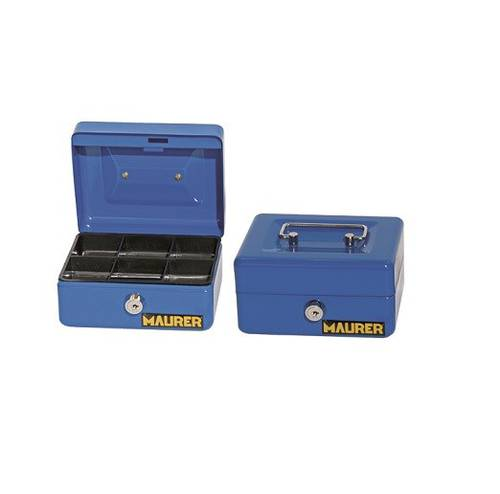 Maurer Blue Sheet Metal Security Box