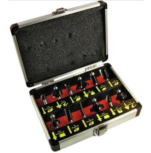 Series 12 Wood Cutters + Case Art.6444 Ecef