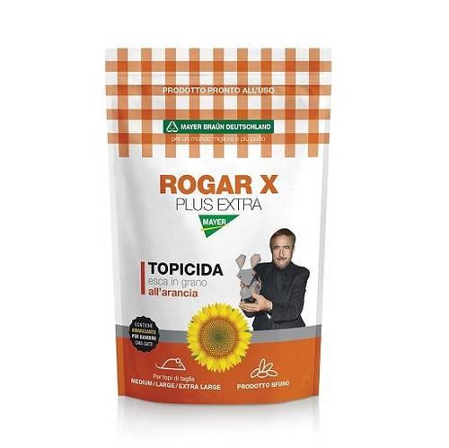ROGAR X PLUS EXTRA SUNFLOWER Bait in Orange Grain 1,5Kg Mayer Braun