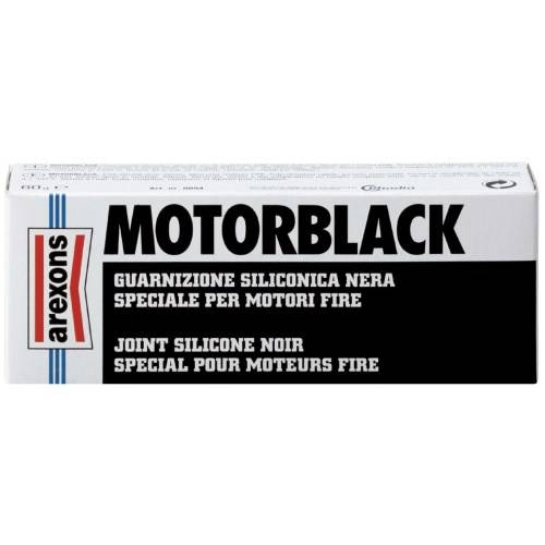 MOTORBLACK Black Silicone Gasket for Engine Arexons
