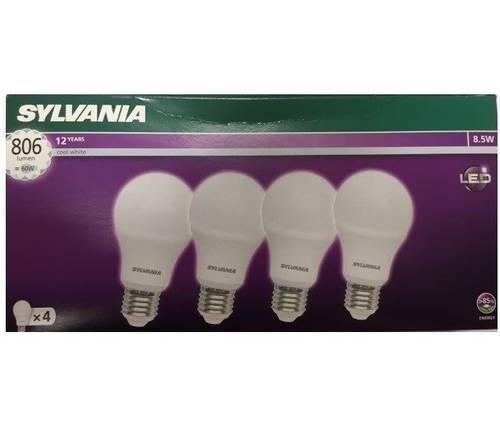 4 Led bulb Toledo A60 8.5W 806Lm 4000K E27 Art.0028225 Sylvania