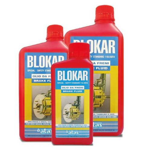 Brake Oil for Cars and Motorcycles High Shifted 1 Liter Atas