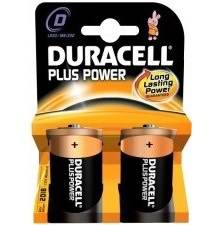 2 Pile Torcia D MN1300 Duracell