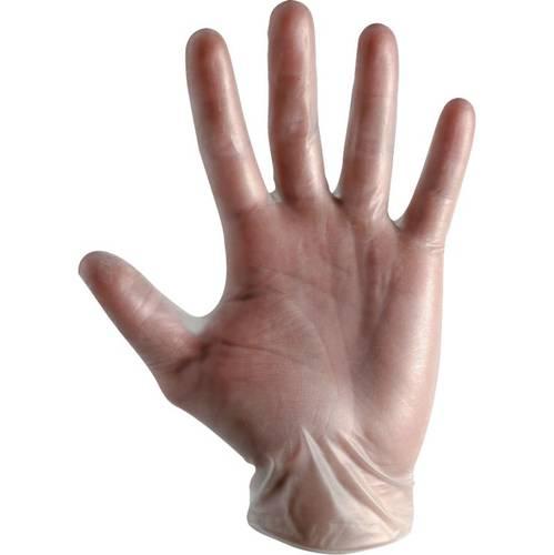 100 Disposable Vinyl Gloves FLEXTO 392030 Boxer Line