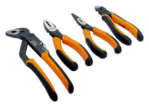 Assortment Set 3 Pliers + Professional Cutter General Use 9897 Bahco