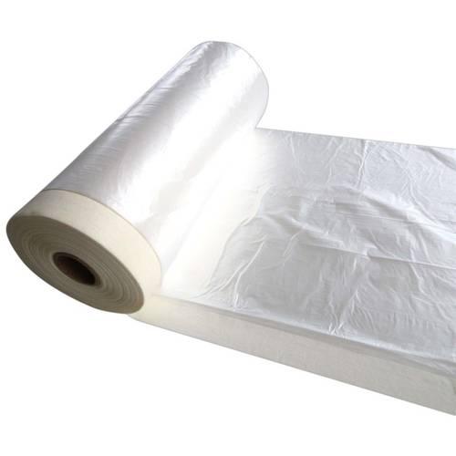Masking Tape with Polyethylene Transparent Sheet