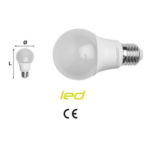 Led bulb Drop 8,5W E27 6500K 806 Lumen 53796 Maurer