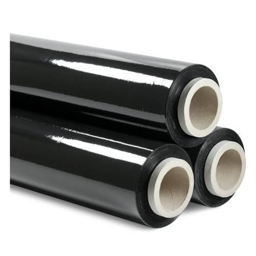 Black Extensible Plastic Film H.50 cm Kg.2,6