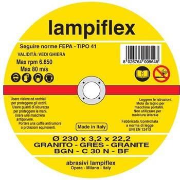 Disc Cutting Granite Lampiflex