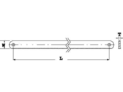 Lama bi-metallica Sandflex 3906-300-24 Bahco
