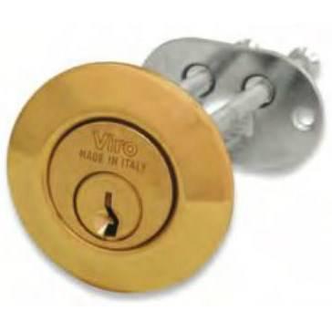 Brass cylinder mm.25x26 712 Viro