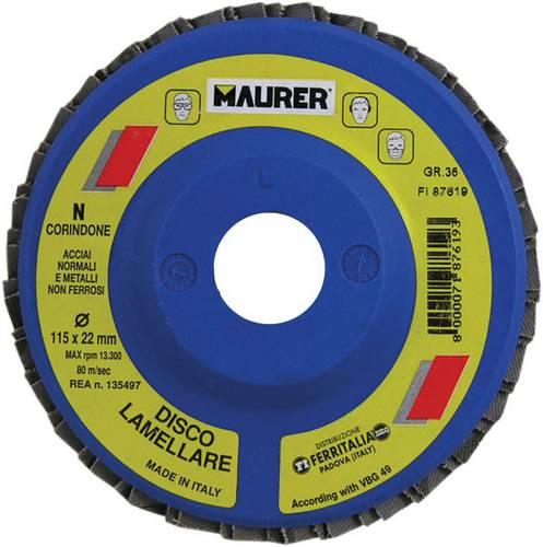 Disco Lamellare Cordindone Gr.120 115x22mm 87625 Maurer