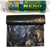 Roll 10 bags Garbage Garbage Blacks 90x1207