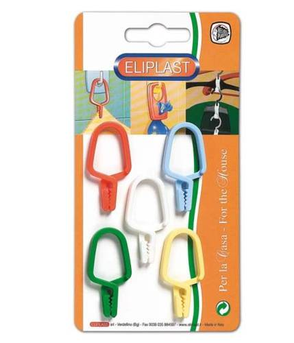 5 clothespins Eliclips Eliplast