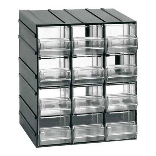 Assemblable Plastic Chest of Drawers Portinuteria Toolholder 4/8/12/24 Drawers