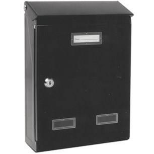 "Mailbox ""Evolution"" Black"