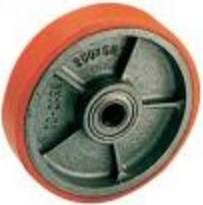 Cast iron / POLYURETHANE wheel. with Cusc. 840,200 Rocarr ball