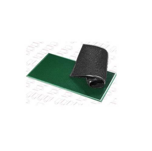"""Rectangular Black Doormat """"Millepunte"""" PCV cm.40x70"""