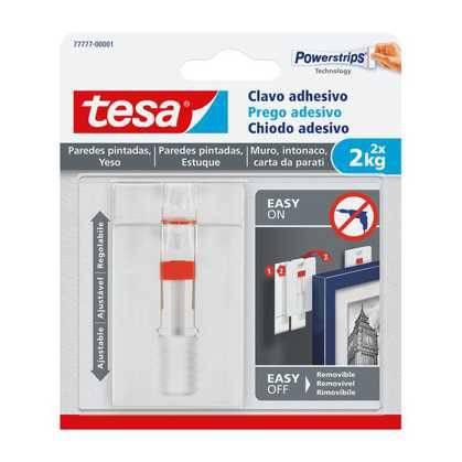 2x Adjustable Adhesive Nail TESA Kg.2