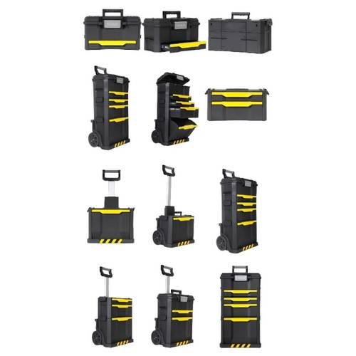 3 in 1 Stanley Rolling Workshop Tool Carrier 1-79-206