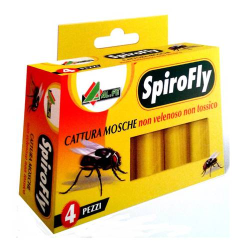 4 Adhesive traps for insects SPIROFLY Al.Fe