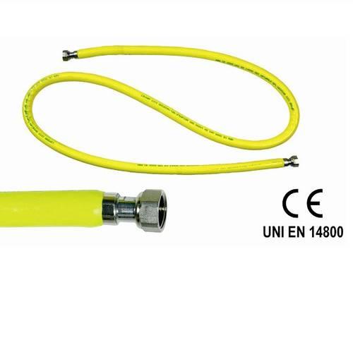"""Gas Hose 1/2 """"M / F UNI EN 14800"""