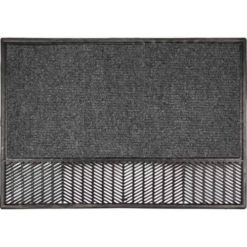 """Doormat """"Grid"""" Moquet cm.48x70"""