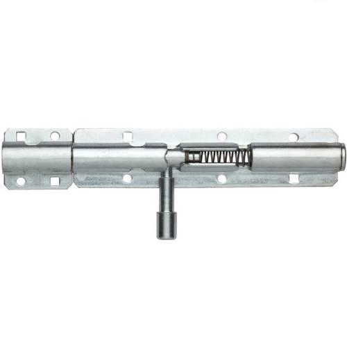 Heavy Galvanized Deadbolt with Spring Latch D.12 MM.270 263AZ30 Maurer