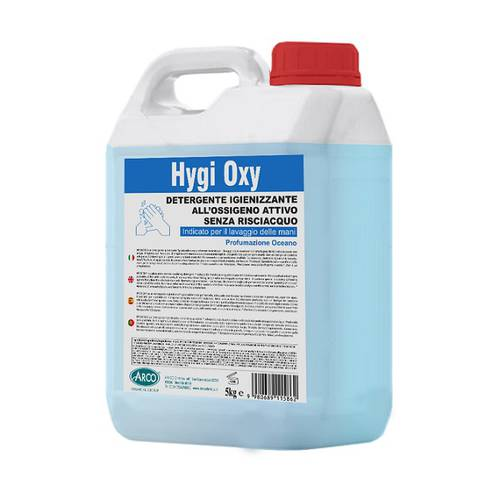 HYGI OXY AR-CO Chemical Hand Sanitizer with Active Oxygen 5 Lt