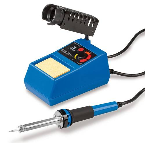 Electric Soldering Iron Adjustable Power 0-48 W Kemper 1600
