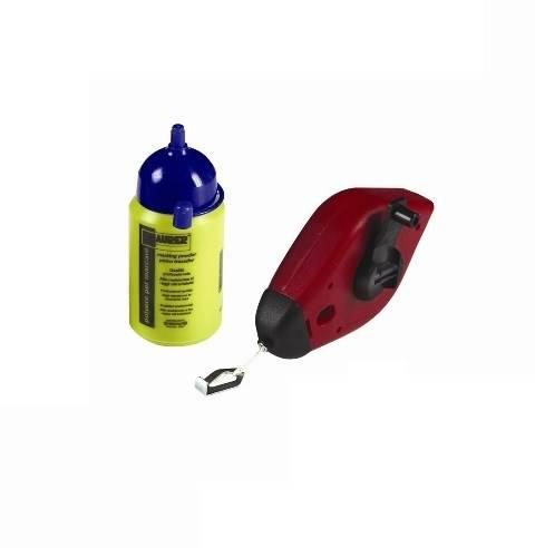 Plastic Tracer Kit 15m with Blue Powder Bottle 100gr 54594 Maurer