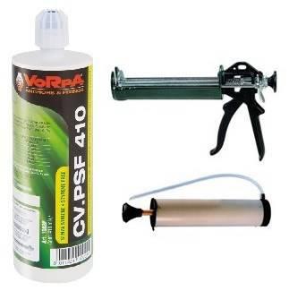 Kit 18 Pcs Anchor Chemical CV PSF 410 ml + Gun + Pump Vorpa
