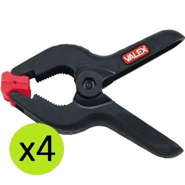"4 pcs set clamp spring 3 ""Valex 1454562"