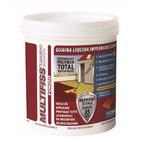 Multifiss Liquid Waterproofing Primer White 1 kg Prochimica