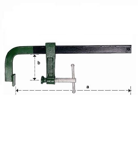 Steel Press Clamp Vice by Carpenter 83841 Maurer